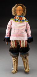 American Indian Art:Beadwork and Quillwork, A Greenland Eskimo Wood Doll...