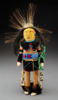 American Indian Art:Wood Sculpture, A Chippewa Male Doll...