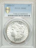 Morgan Dollars: , 1890-CC $1 MS62 PCGS. PCGS Population: (2729/6712). NGC Census: (1550/2718). CDN: $550 Whsle. Bid for problem-free NGC/PCGS...