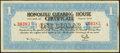 Obsoletes By State:Hawaii, Honolulu, HI- Honolulu Clearing House Certificate $1 Mar. 10, 1933 Shafer HI51-1a Choice About Uncirculated.. ...
