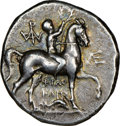 Ancients:Greek, CALABRIA. Tarentum. Ca. 240-228 BC. AR stater (20mm, 5.96 ...