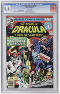 Bronze Age (1970-1979):Horror, Tomb of Dracula #46 (Marvel, 1976) CGC NM 9.4 White pages....