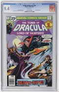 Bronze Age (1970-1979):Horror, Tomb of Dracula #47 (Marvel, 1976) CGC NM 9.4 White pages....