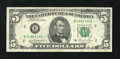 Small Size:Federal Reserve Notes, Fr. 1976-B* $5 1981 Federal Reserve Note. Very Fine.. A moderately circulated and utterly original example of this scarcer s...