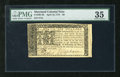 Colonial Notes:Maryland, Maryland April 10, 1774 $6 PMG Very Fine 35. A bright andenormously margined example from this available Maryland issuetha...