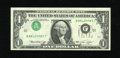 Error Notes:Inverted Third Printings, Fr. 1908-J $1 1974 Federal Reserve Note. Gem Crisp Uncirculated..The third printing is upside down on this well preserved T...