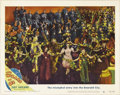 "Movie Posters:Musical, The Wizard of Oz (MGM, R-1949). Lobby Cards (2) (11"" X 14""). Amongthe sequences shot for the film, but eventually cut, was ...(Total: 2 Items)"