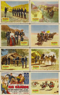 "Movie Posters:Western, Rio Grande (Republic, 1950). Lobby Card Set of 8 (11"" X 14""). Thefinal installment in John Ford's ""Cavalry Triology"" found ...(Total: 8 Item)"