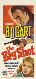 "Movie Posters:Crime, The Big Shot (Warner Brothers, 1942). Australian Daybill (13.5"" X30""). Humphrey Bogart's last time playing a gangster was t..."