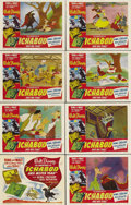 "Movie Posters:Animated, The Adventures of Ichabod and Mr. Toad (RKO, 1949). Lobby Card Set of 8 (11"" X 14""). Due to the belt-tightening of World War... (Total: 8 Items)"