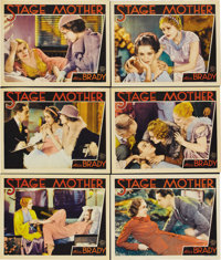 "Stage Mother (MGM, 1933). Lobby Cards (6) (11"" X 14""). Alice Brady stars as a mother who, after the death of h..."