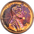 1970-S 1C Small Date PR67 Red and Brown PCGS. PCGS Population: (13/0). NGC Census: (14/1). Mintage 2,632,810. ...(PCGS#...