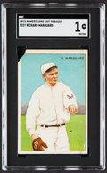 Baseball Cards:Singles (Pre-1930), 1912 T227 Honest Long Cut Richard Marquard SGC Poor 1....