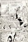 Original Comic Art:Panel Pages, George Perez and Romeo Tanghal The New Teen Titans #13 Story Page 5 Original Art (DC, 1981)....