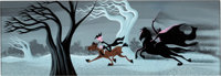 Mary Blair The Adventures of Ichabod Crane and Mr. Toad Concept/Color Key Painting (Walt Dis
