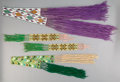 American Indian Art:Beadwork and Quillwork, Three Great Lakes Loom-beaded Items... (Total: 3 )