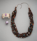 American Indian Art:Jewelry and Silverwork, Three Southwest Jewelry Items... (Total: 2 )