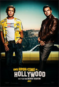 """Movie Posters:Drama, Once Upon a Time...in Hollywood (Columbia, 2019). Rolled, Very Fine/Near Mint. One Sheet (27"""" X 40""""). DS Teaser Pitt/DiCapri..."""