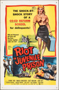 "Movie Posters:Exploitation, Riot in Juvenile Prison & Other Lot (United Artists, 1959). Folded, Very Fine-. One Sheets (2) (27"" X 41""). Exploitation.. ... (Total: 2 Items)"