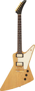 Musical Instruments:Electric Guitars, 1983 Gibson Explorer Korina Solid Body Electric Guitar, Serial # 80133585.. ...