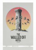 Collectible, Banksy X The Walled Off Hotel. The Walled Off Hotel Postcards, 2017. Offset lithographs in colors on paper. 6-3/4 x 4-3/...