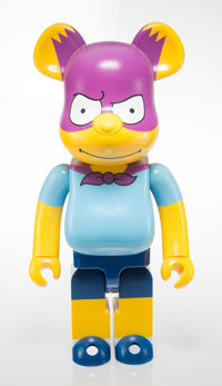 BE@RBRICK X The Simpsons Bartman 1000%, 2017 Painted cast resin 28 x 14 x 9 inches (71.1 x 35.6 x