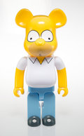 Collectible, BE@RBRICK X The Simpsons. Homer Simpson 1000%, 2017. Painted cast resin. 28 x 14 x 9 inches (71.1 x 35.6 x 22.9 cm). No....