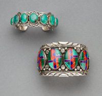 Two Southwest Cuff Bracelets... (Total: 2 )