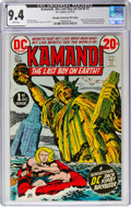 Bronze Age (1970-1979):Science Fiction, Kamandi, the Last Boy on Earth #1 Murphy Anderson File Copy (DC, 1972) CGC NM 9.4 White pages....