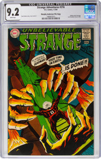 Strange Adventures #216 Murphy Anderson File Copy (DC, 1969) CGC NM- 9.2 White pages