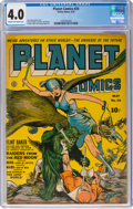 Planet Comics #24 (Fiction House, 1943) CGC VG 4.0 Cream to off-white pages