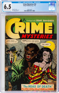 Golden Age (1938-1955):Horror, Crime Mysteries #10 (Ribage Publishing, 1953) CGC FN+ 6.5 Cream to off-white pages....