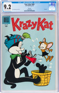 Silver Age (1956-1969):Humor, Four Color #696 Krazy Kat - File Copy (Dell, 1956) CGC NM- 9.2 Off-white to white pages....