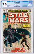 Modern Age (1980-Present):Science Fiction, Star Wars #44 (Marvel, 1981) CGC NM+ 9.6 Off-white pages....