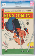 Golden Age (1938-1955):Humor, King Comics #99 Double Cover (David McKay Publications, 1944) CGC NM+ 9.6 Cream to off-white pages....