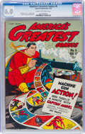 Golden Age (1938-1955):Superhero, America's Greatest Comics #6 (Fawcett Publications, 1943) CGC FN 6.0 Cream to off-white pages....