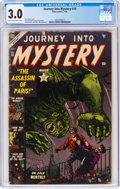 Golden Age (1938-1955):Horror, Journey Into Mystery #10 (Marvel, 1953) CGC GD/VG 3.0 Cream to off-white pages....