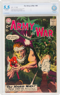 Our Army at War #88 (DC, 1959) CBCS FN- 5.5 Off-white pages