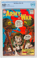 Silver Age (1956-1969):War, Our Army at War #90 (DC, 1960) CBCS VG 4.0 Cream to off-white pages....