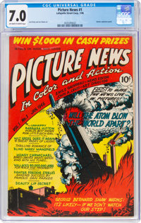 Picture News #1 (Lafayette Street Corp., 1946) CGC FN/VF 7.0 Off-white to white pages