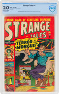 Golden Age (1938-1955):Horror, Strange Tales #4 (Atlas, 1951) CBCS GD 2.0 Cream to off-white pages....