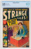 Golden Age (1938-1955):Horror, Strange Tales #5 (Atlas, 1952) CBCS VG- 3.5 Off-white to white pages....