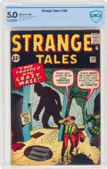 Silver Age (1956-1969):Mystery, Strange Tales #100 (Marvel, 1962) CBCS VG/FN 5.0 Cream to off-white pages....