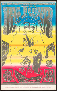 Big Brother and the Holding Company at the Continental Auditorium (Bill Hamilton, 1967). Rolled, Very Fine-. Concert Pos...