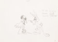 Animation Art:Production Drawing, A Witch's Tangled Hare Bugs Bunny Pr...