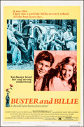 "Movie Posters:Drama, Buster and Billie (Columbia, 1974). Folded, Very Fine. One Sheet (27"" X 41""), Lobby Card Set of 8 (11"" X 14""), & Uncut Press... (Total: 10 Items)"