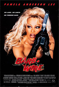 "Barb Wire & Other Lot (Gramercy, 1996). Rolled, Very Fine. One Sheets (2) (27"" X 40"" & 27"" X 41&q..."