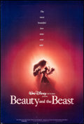 Movie Posters:Animation, Beauty and the Beast (Buena Vista, 1991). Rolled, Fine/Ver...