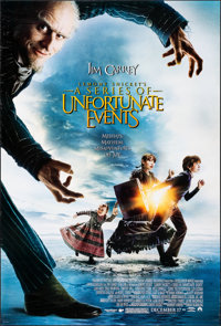 Lemony Snicket's A Series of Unfortunate Events & Other Lot (Paramount, 2004). Rolled, Very Fine-. One Sheets (2) (2...