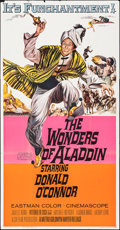 """Movie Posters:Fantasy, The Wonders of Aladdin & Other Lot (MGM, 1961). Folded, Fine/Very Fine. Three Sheets (2) (41"""" X 79""""). Fantasy.. ... (Total: 2 Items)"""